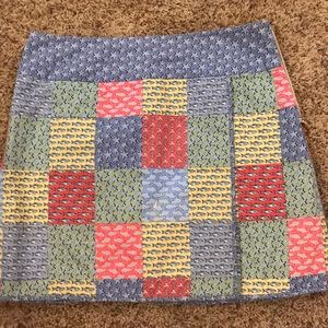 Vineyard Vines Patchwork Skirt